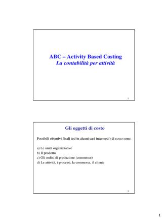 09) Metodo ABC