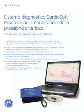 CS Ambulatory Blood Pressure spec PDF 248KB