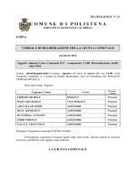 TARI - Determinazione tariffe anno 2014