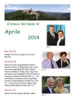 Aprile - Santuario Beata Vergine di Castelmonte