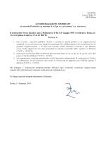 Il sottoscritto Nereo Zamaro nato a Palmanova (UD) il 25