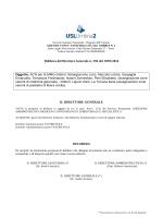 Delibera del Direttore Generale n. 394 del 19/05/2014 Oggetto: ACN