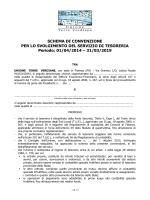 ABI-ANCI Modello di convenzione per servizio di tesoreria