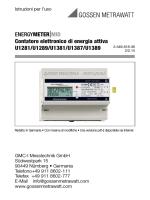 ENERGYMETER|MID Contatore elettronico di energia attiva U1281