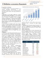 Il Bollettino economico-finanziario Settimana 7-11