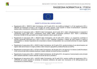 2014_17_Rassegna Normativa - Azienda Ulss 4 Alto Vicentino