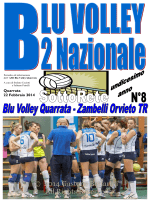 Giornalino numero 8 - Blu Volley Quarrata