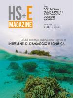 VOL.12 - N.4 INTERVENTI DI DRAGAGGIO E