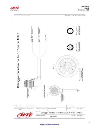 Cablaggio MXL2 ver. 1.03