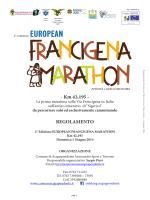 EUROPEAN - Via Francigena