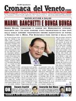 La Cronaca del Veneto 23 ottobre 2014