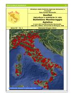 BeeNet Bollettino Monitoraggio Apistico - CRA-API