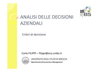 02-ADA-Criteri di decisione