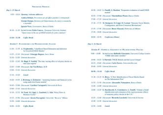 Day 1 - Economia - Università degli studi di Pavia