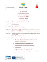 "19 March 2014 SMARTinMED Workshop ""NUCLEO B"