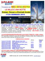 Dubai, Oman e Emirati Arabi