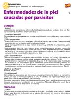 Enfermedades de la piel causadas por parásitos