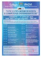 Corso CVC CVP - Collegio IPASVI Lecce