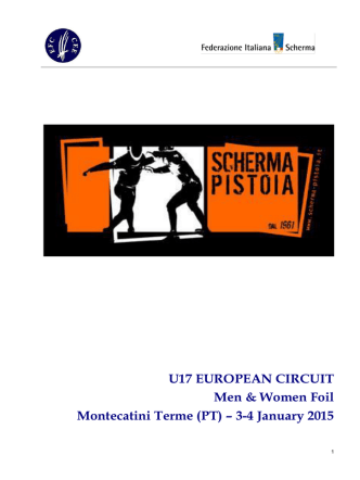 3-4 January 2015 - European Fencing Confederation