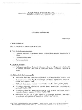 CV Palma Angelo - Comune di Como