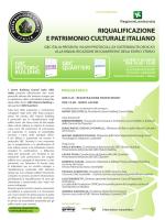 Scarica la locandina programma - Green Building Council Italia