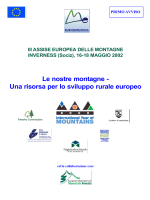 Una risorsa per lo sviluppo rurale europeo
