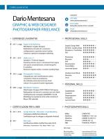 Curriculum Vitae - Dario Mentesana