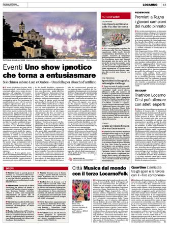 Corriere del Ticino, 28.7.2014