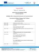 Programma (draft) - Erasmus+, Il sito Italiano del programma