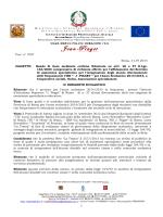 Bando assegnazione Assistenza Specialistica a.s. 2014/2015