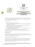 Approvato il PAI 2014 - Istituto Comprensivo Piazza De Cupis