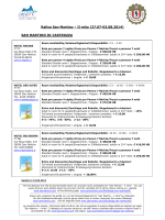 Lista delle strutture convenzionate