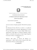 N. 02522/2014 - Ministero della Salute
