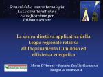 Diapositiva 1 - CNA Emilia Romagna