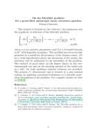 On the Dirichlet problem for a prescribed anisotropic mean curvature