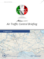 Air Traffic Control Briefing 21 Agosto 2014