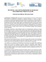 BEI-CREVAL - Gruppo bancario Credito Valtellinese