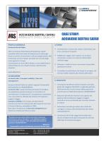 CASE STUDY: ACCIAIERIE BERTOLI SAFAU