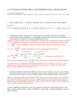 Soluzione appello 6 Maggio 2014 - Dipartimento di Ingegneria dell