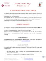 Newsletter Ufficio Stage - Ufficio Stage Comunicazione