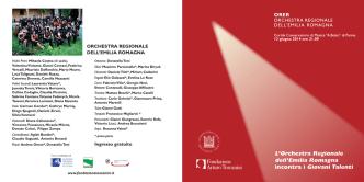 Concerto ORER incontra i giovani talenti 13-06-2014