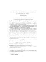 Lezioni del corso - Dipartimento di Matematica