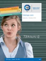 Scarica il Catalogo Corsi e Tariffario 2014