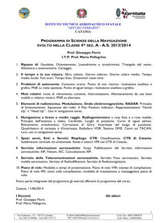 4A nav - Benvenuti in ITAER. Ferrarin.gov.it