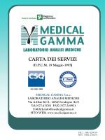 Carta dei servizi - Medical Gamma Snc