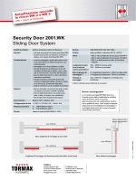 Security Door 2001.WK Sliding Door System - MAMA