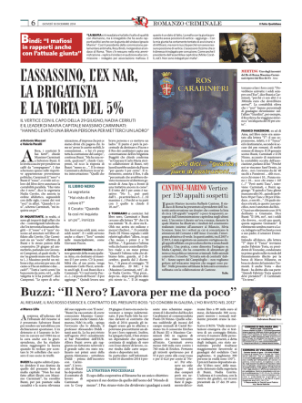 18 12 17 Il.Fatto.Quotidiano Mafia Capitale