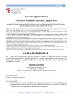 Programma - Il Futuro Possibile Milano 2014 agg.1 agosto