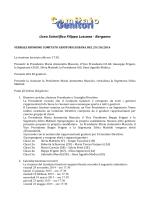 Verbale Riunione Comitato Genitori del 29.10.2014