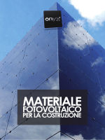 Photovoltaic Building Materials - Onyx Solar